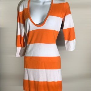 Tommy Bahama Striped Long Sweater or Short Dress